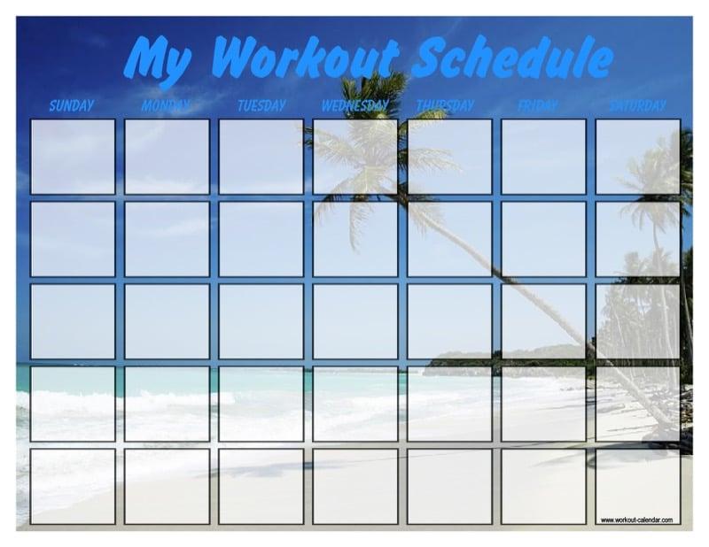 4 Workout Calendar Templates Free Premium Free Templates In Doc Ppt Pdf Xls